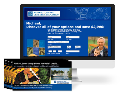 Flanner & Buchanan Pre-need Direct mail Campaign
